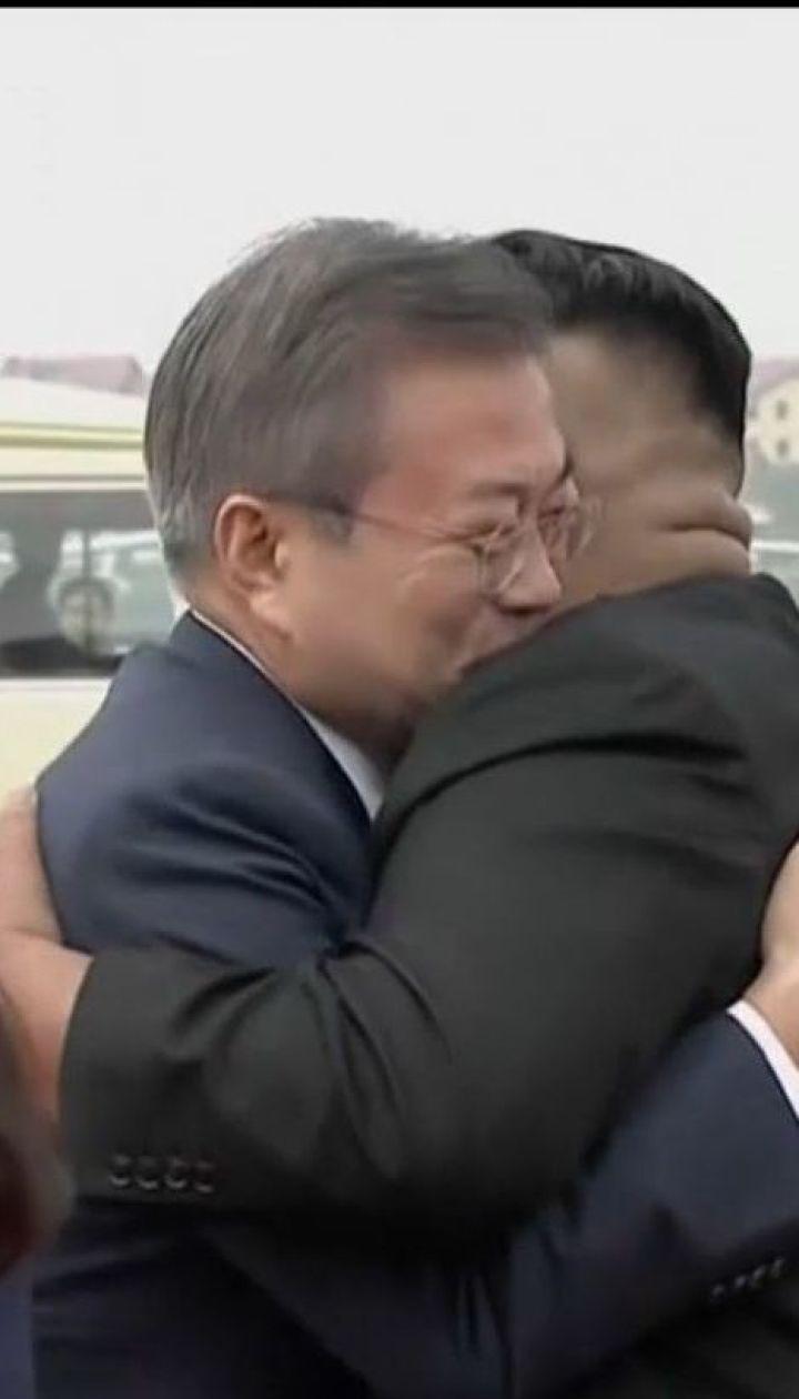 В гостях у Ким Чен Ына. В КНДР прилетел Президент Южной Кореи