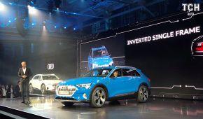 Audi полностью рассекретило первый серийный кроссовер на электричестве