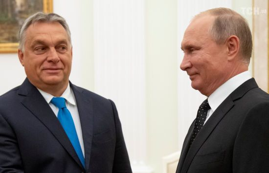 Орбан попросив Путіна постачати газ до Угорщини в обхід України