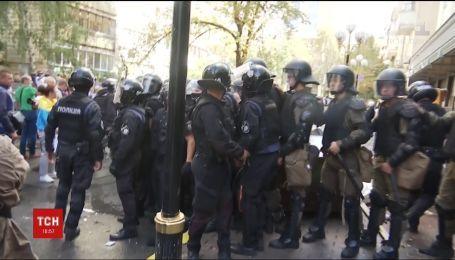 Задержанному участнику беспорядков под ГПУ должны избрать меру пресечения