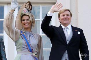 В красивой шляпке и бриллиантах: королева Нидерландов Максима открыла новый парламентский год