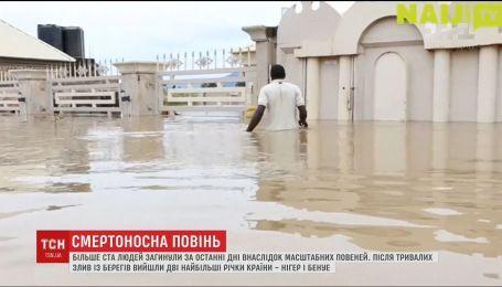 Из-за наводнений в Нигерии погибли более ста человек