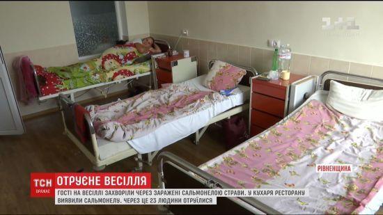Отруєння на весіллі на Рівненщині сталося через кухаря та офіціанта