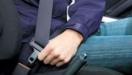 Рада підтримала збільшення штрафу за непристебнутий ремінь безпеки
