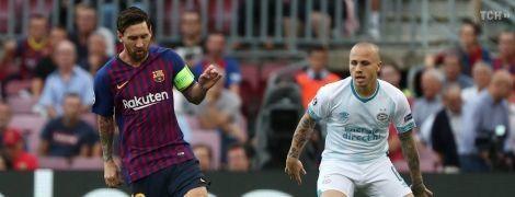 Месси стал автором первого гола Лиги чемпионов-2018/19