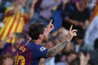 Месси установил рекорд Лиги чемпионов, опередив Роналду