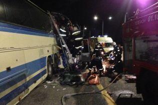 Под российским Воронежем после столкновения рейсовых автобусов погибли 5 человек