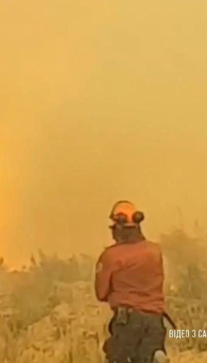 В Канаде в 60-метровое торнадо затянуло пожарный шланг