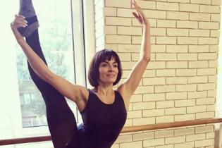 У балетного станка: Надя Мейхер похвасталась растяжкой