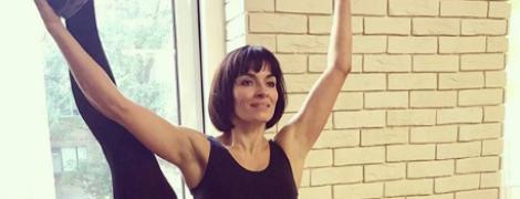 Біля балетного станка: Надя Мейхер похизувалася розтяжкою