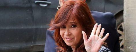 Переборщила з тональним: екс-президент Аргентини зробила невдалий макіяж