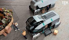 Renault официально представил беспилотный робо-автобус EZ-Pro