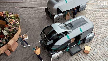 Renault офіційно презентував безпілотний робо-автобус EZ-Pro