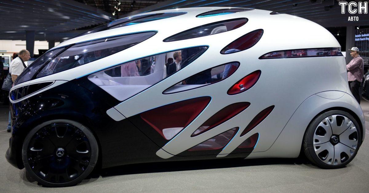 Mercedes показав безпілотний концеп із платформою-трансформером