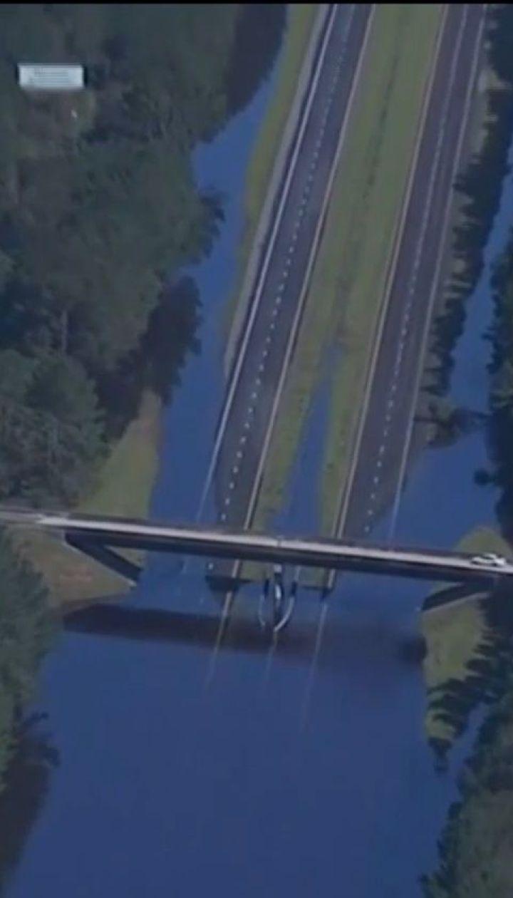 """Узбережжя Північної Кароліни підраховує збитки, нанесені ураганом """"Флоренс"""""""