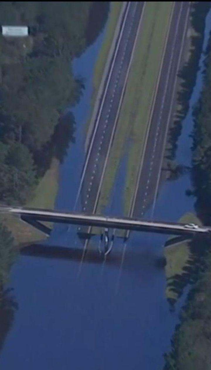 """Побережье Северной Каролины подсчитывает убытки, нанесенные ураганом """"Флоренс"""""""
