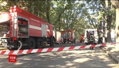 В Хмельницком загорелась школа