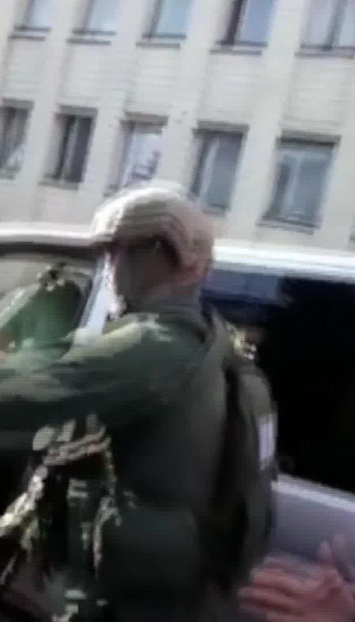 Відео з місця конфлікту під Антикорупційною прокуратурою
