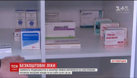 Безкоштовні ліки. Як перевірити наявність медикаментів у лікарнях