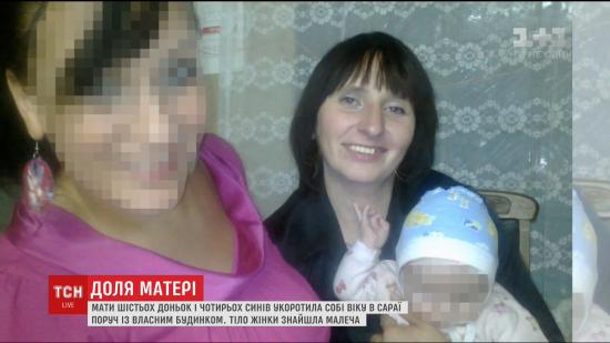 На Київщині повісилася мати десятьох дітей