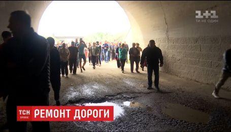 На Одещині селяни зняли блокаду з траси державного значення після 9 днів протесту