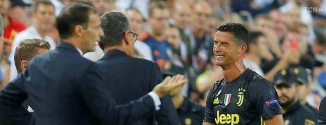 Роналду расплакался после удаления в матче Лиги чемпионов, это его первая красная в турнире