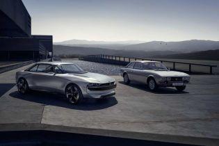 Peugeot створили концептуальний спорткар з рисами ретро-автомобіля