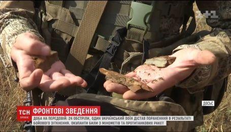 Боевики продолжают обстрелы из минометов большого калибра и противотанковых ракет