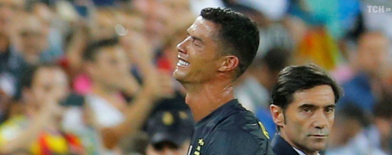 УЄФА завів справу проти Роналду