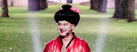 """Прем'єра """"Ліги сміху"""": Полякова стане британською королевою, а Кошовий – гейшею"""