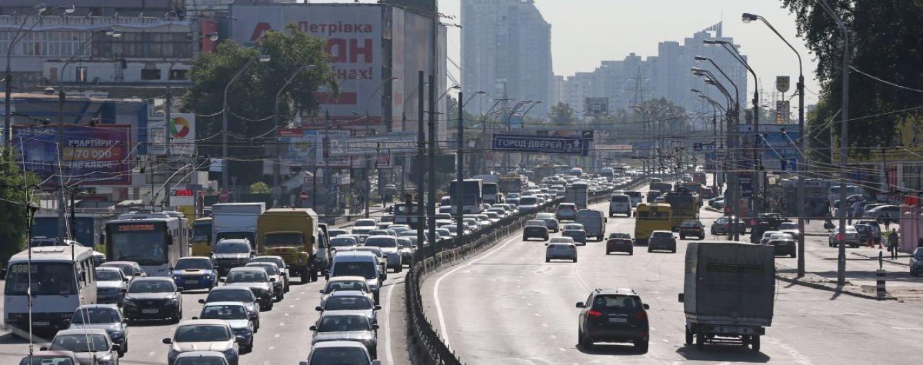 В Киеве планируют 15 месяцев ремонтировать проспект Бандеры