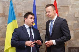 """""""Сложный диалог"""". Климкин обсудит с Сийярто ситуацию с венграми Закарпатья на следующей неделе"""