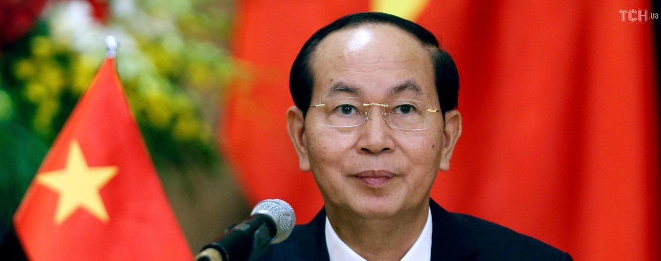 Во Вьетнаме скончался действующий президент