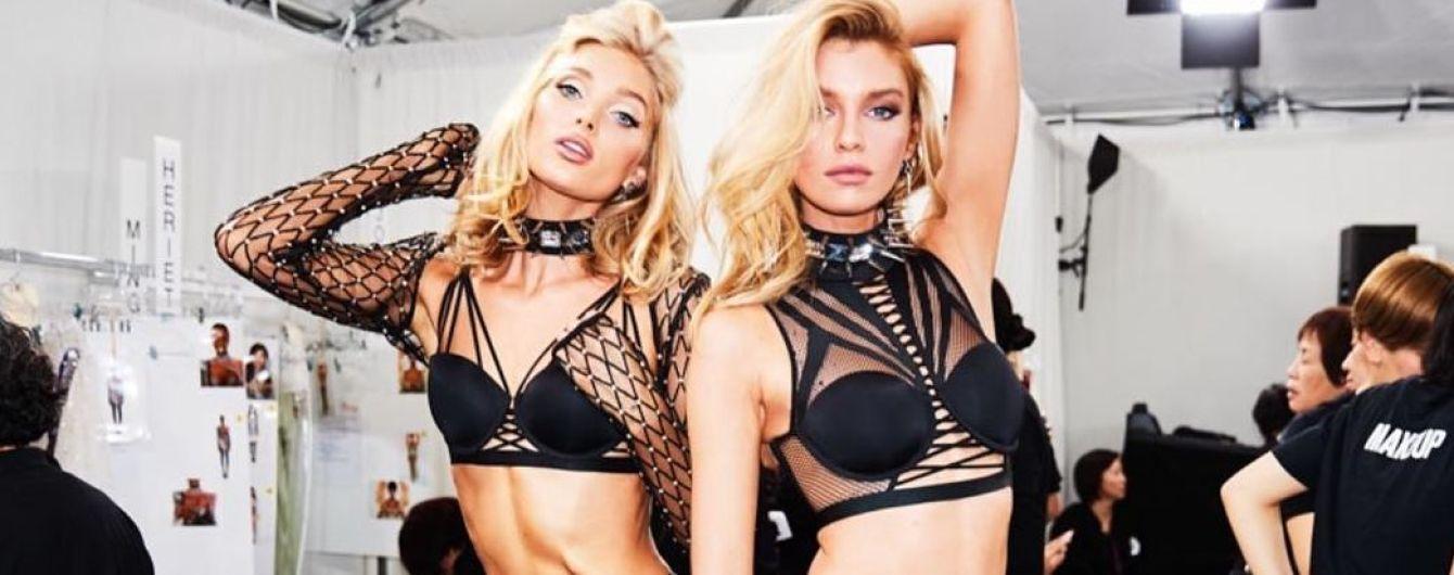 У спідній білизні та з улюбленими дівчатами: Ельза Госк розкрила перший секрет майбутнього шоу Victoria's Secret