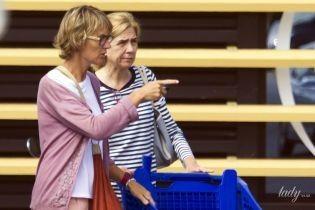 Принцессы тоже делают это: испанская принцесса Кристина в неприглядном виде сходила за покупками