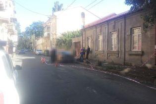 Аброськін оприлюднив відео зухвалого нападу на інкасаторів в Одесі