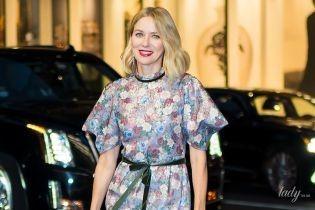 В красивом цветочном платье: Наоми Уоттс впечатлила эффектным образом