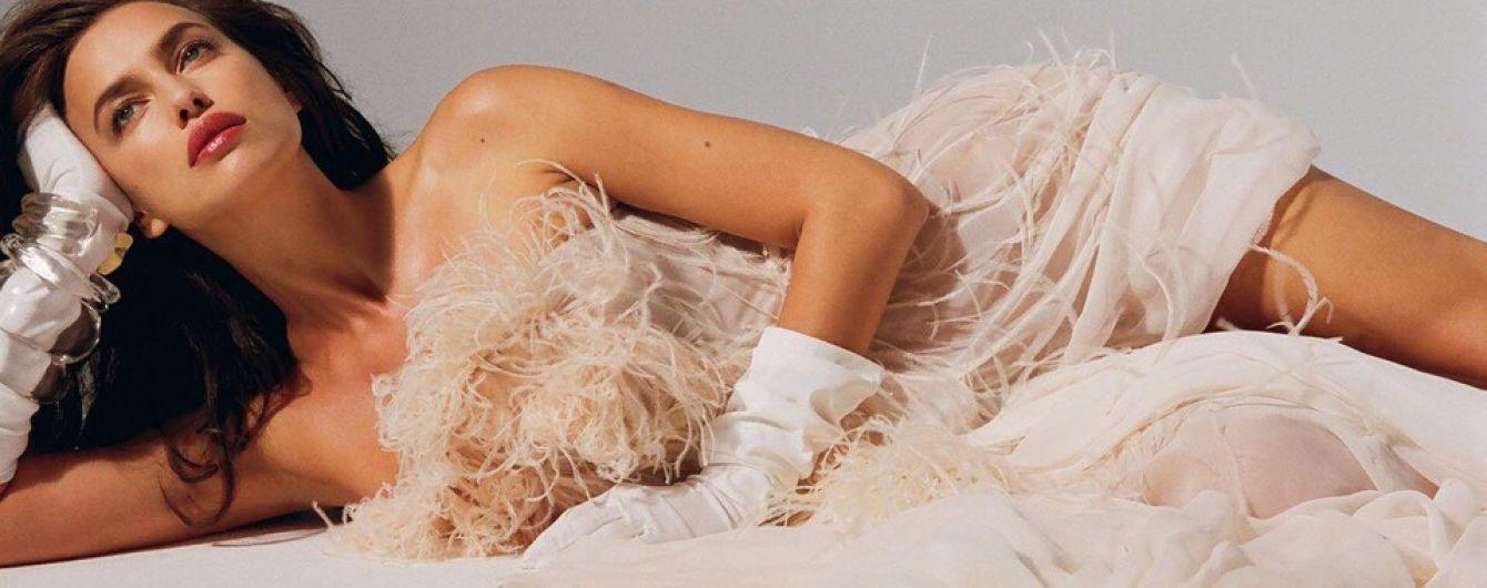 Страстная и сексуальная: Ирина Шейк блистает на страницах глянца