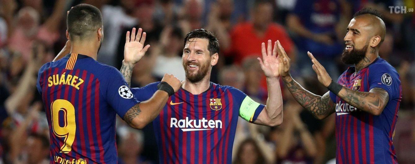 Месси стал лучшим игроком 1-го тура Лиги чемпионов