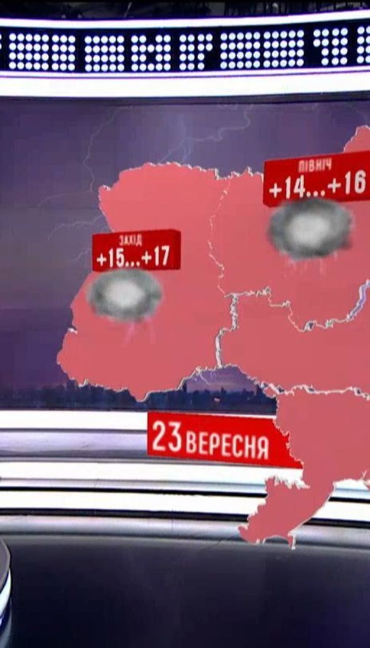 На Украину надвигается холодная дождевая осень - синоптики