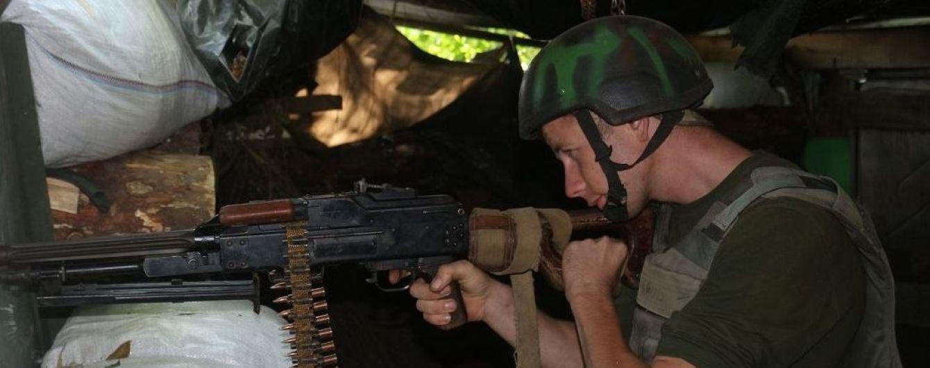 Во время боевого столкновения на Донбассе ранения получили двое украинских военных