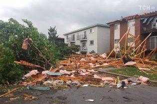 Блэкаут и разрушенные дома: Оттаву атаковал мощный торнадо