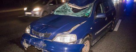 В Киеве автомобиль на большой скорости сбил насмерть человека