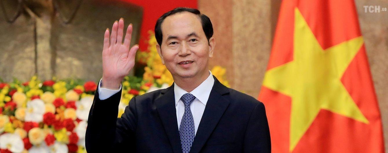 Стала відома хвороба, від якої помер президент В'єтнаму