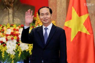 Стала известна болезнь, от которой умер президент Вьетнама