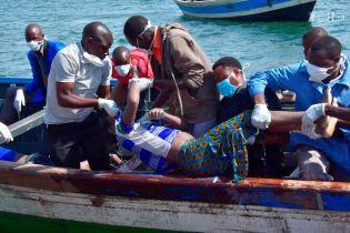 У Танзанії зросла кількість загиблих унаслідок аварії порома