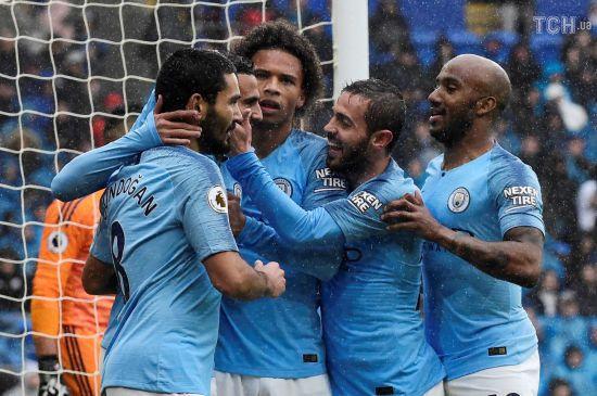 """""""Манчестер Сіті"""" після несподіваної поразки в Лізі чемпіонів відправив п'ять голів у ворота """"Кардіфф Сіті"""""""