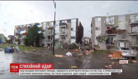 По Канаде пронесся торнадо, некоторые здания разрушены до основания