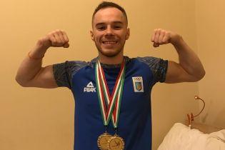 Украинский гимнаст Верняев после длительной паузы завоевал 2 медали на этапе Кубка мира