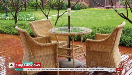 Как подготовить садовую мебель к холодам - Осень на даче